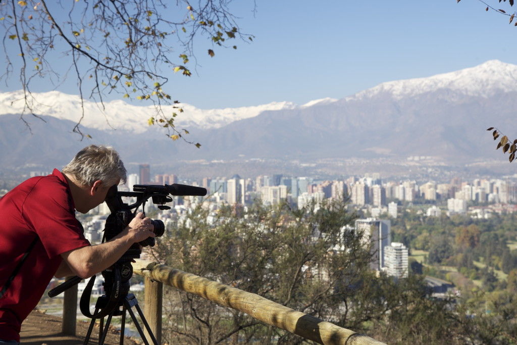 Carl in Santiago, Chile.