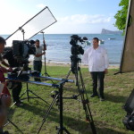 Outdoor interview - Mauritius