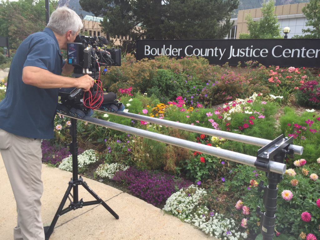 Carl puts one of his Sony F55s to work on a Dana dolly for Dateline NBC.